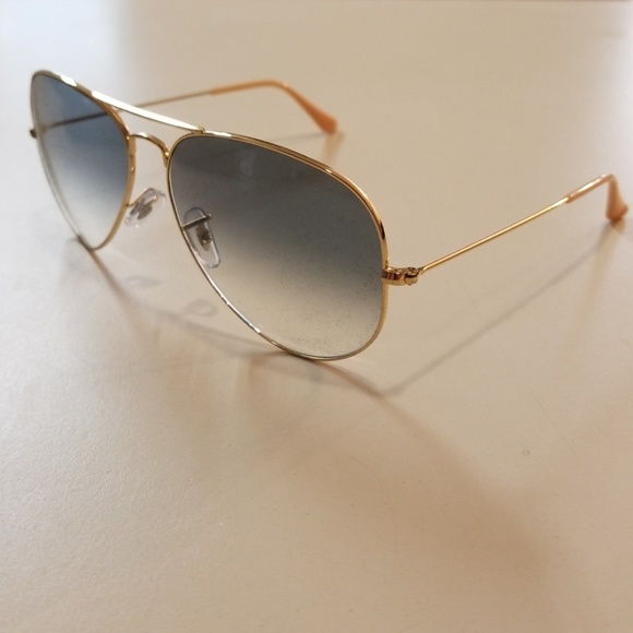 8ec72a457 Ray-Ban Accessories | Brand New Ray Ban Aviator 3025 Goldblue ...
